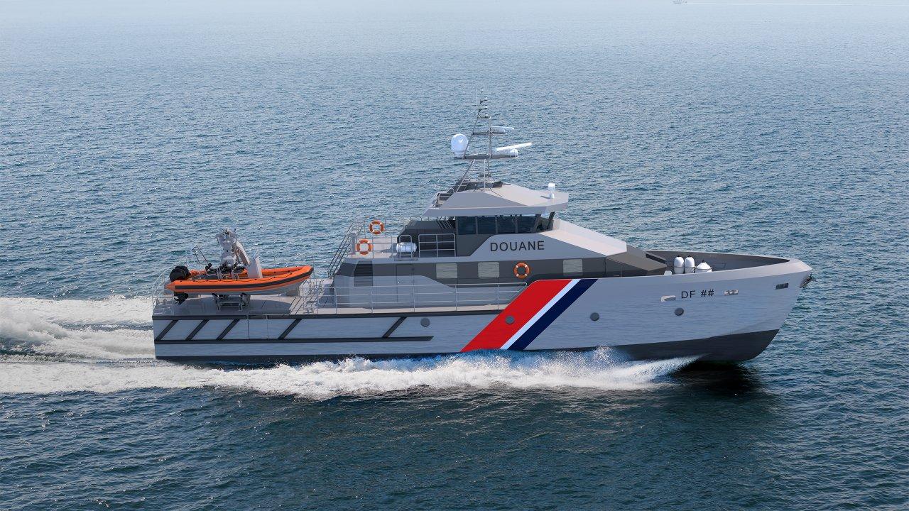 Exterior design of 3200 OPV